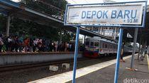 Stasiun Depok Baru Banjir hingga Mata Kaki, PUPR Depok Duga Saluran Air Mampet