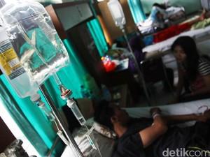Pasien DBD di Kota Depok Meningkat