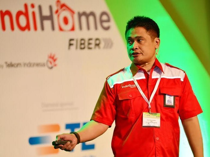 Direktur Consumer Service Telkom Dian Rachmawan (Foto: Telkom)
