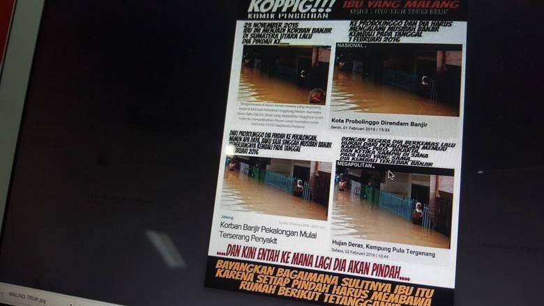 Meme Lucu tentang Ibu yang Pindah pindah Rumah karena Banjir ini