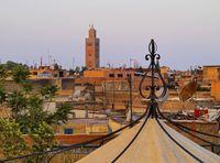 Ilustrasi di Maroko