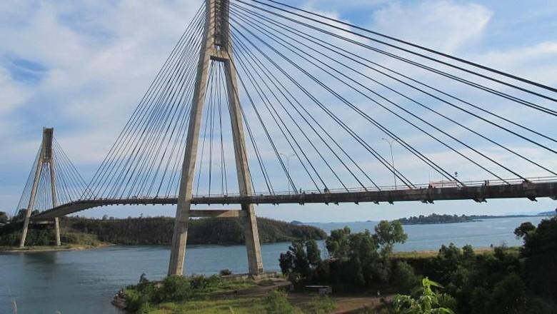Jembatan Barelang di Batam (Afif Farhan/detikTravel)