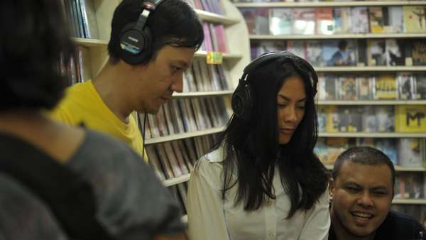 Suasana di Belakang Layar Film A Copy of My Mind