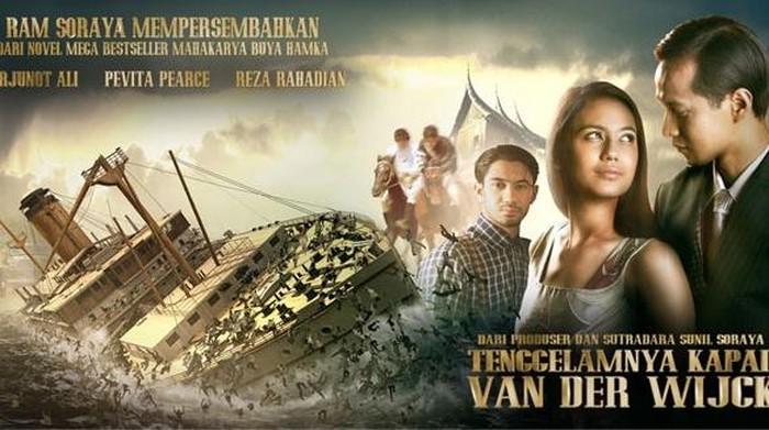 Poster Film bernuansa cinta