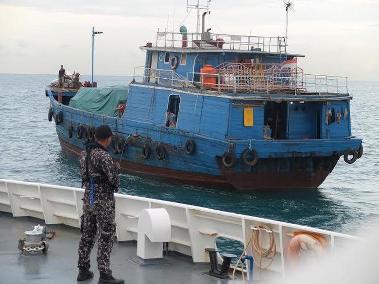Operasi Bakamla di Perairan Batam, Penyisiran Dilakukan di Selat Singapura