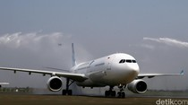 Cegah Corona, Pesawat Garuda Disemprot Cairan Khusus