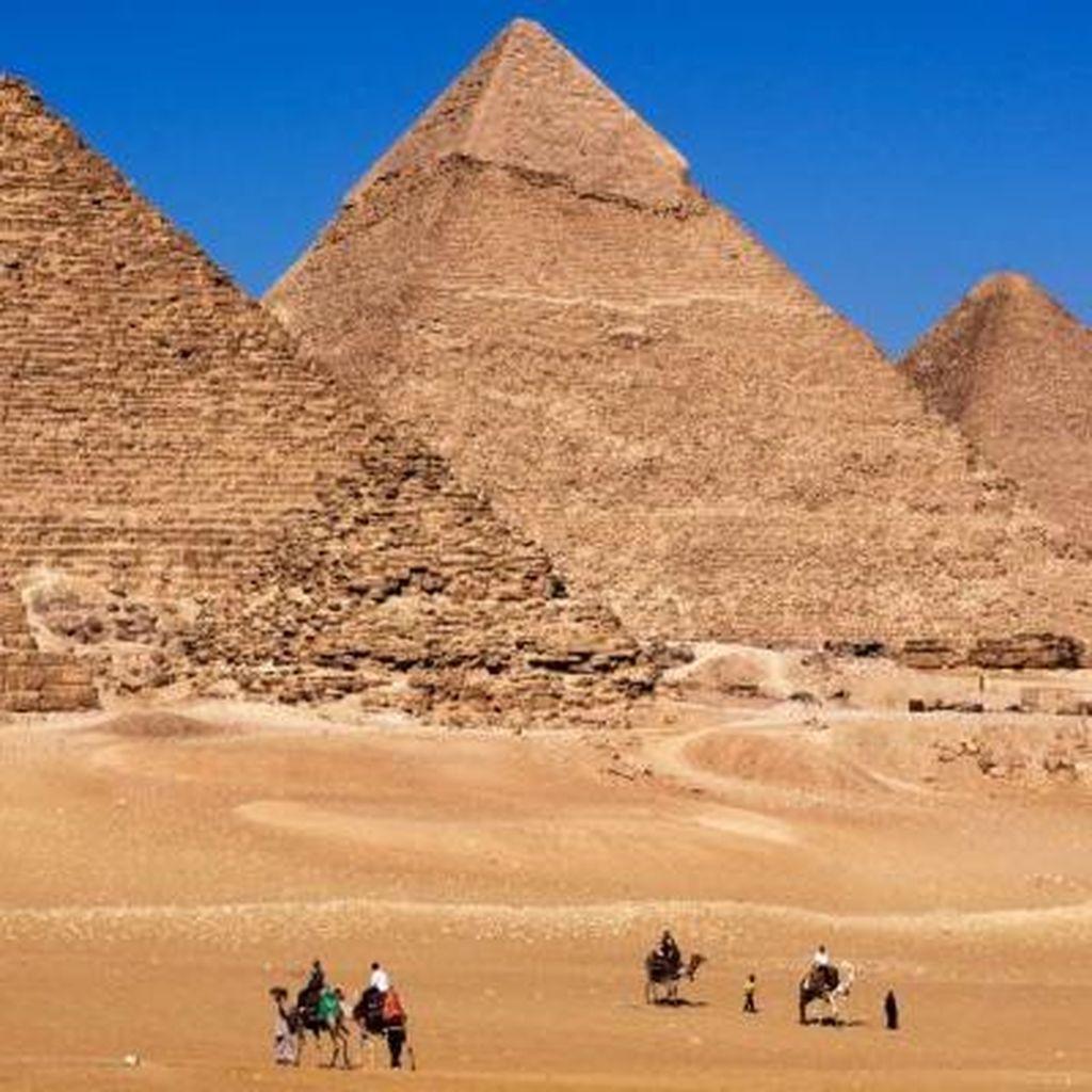 Misteri Pembangunan Piramida Giza Mulai Terkuak
