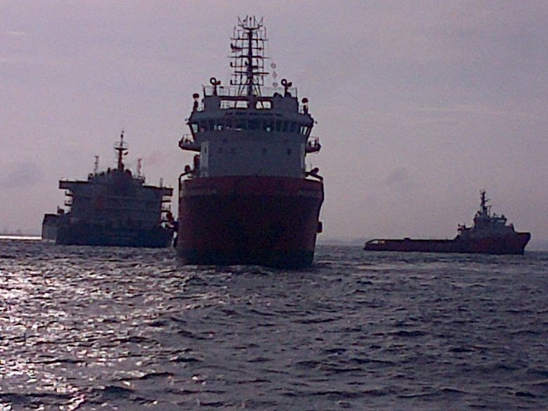 Kapal Kargo Berbendera Hong Kong yang Kandas di Kepri Sukses Dievakuasi TNI AL