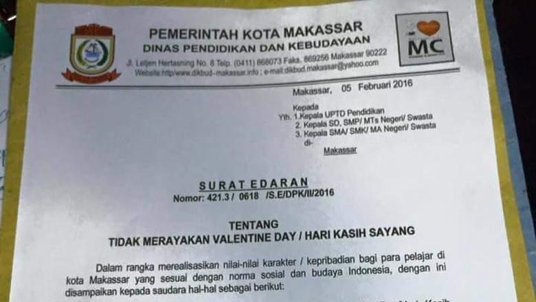 Makassar Terbitkan Surat Edaran Larangan Pelajar Rayakan