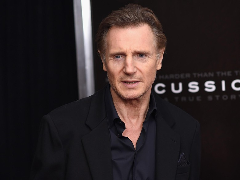 Liam Neeson Bakal Gabung di Spin-off Men in Black