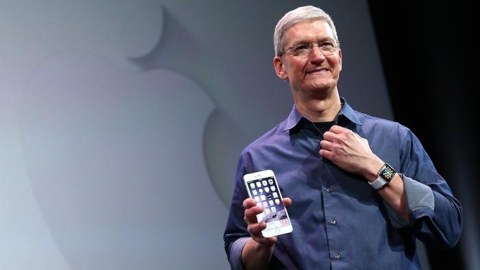 CEO Apple Tim Cook. Foto: GettyImages/Justin Sullivan