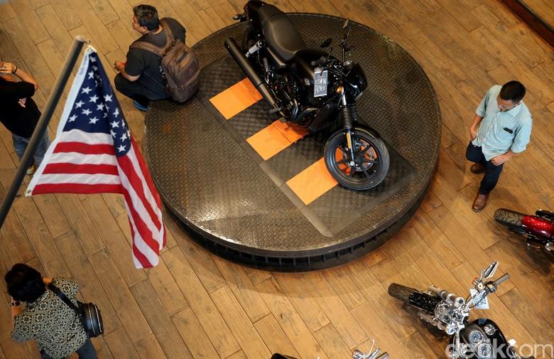 Harley-Davidson. Foto: Ari Saputra