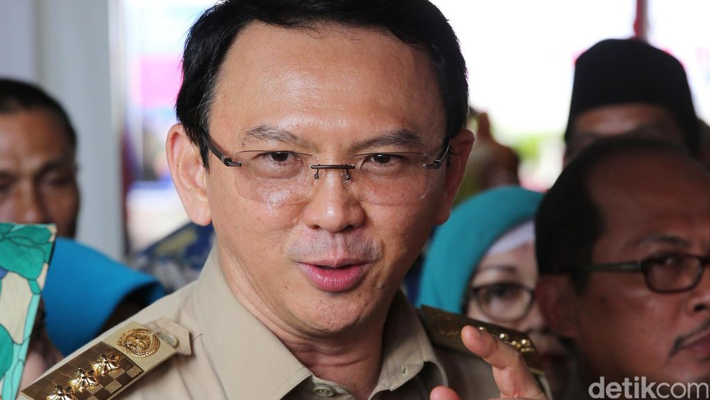 Ahok Minta Warga Jakarta Jaga Makan Agar Tak Mudah Kena Kanker
