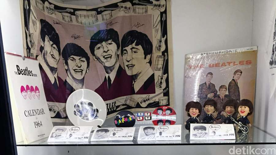 Ini Barang-barang Asli Peninggalan The Beatles