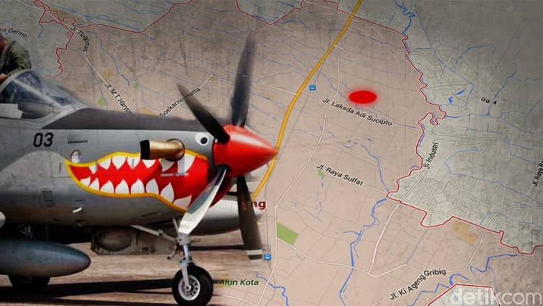 Saksi Mata Lihat Pesawat Super Tucano Berputar Sebelum Jatuh