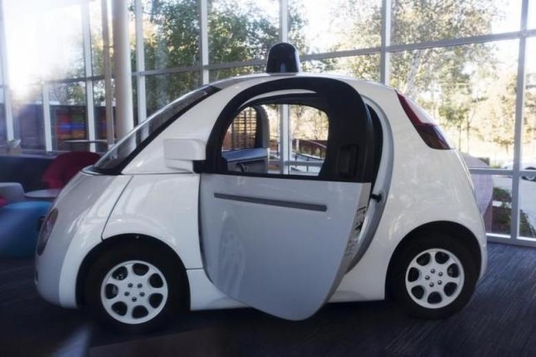 Mobil otonom Google Foto: Reuters