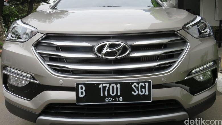 Ilustrasi Hyundai Santa Fe (Foto: Rangga Rahadiansyah)