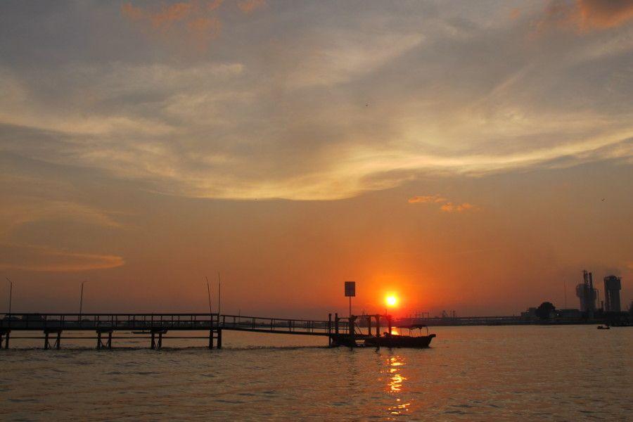 Sunset Sungai Musi