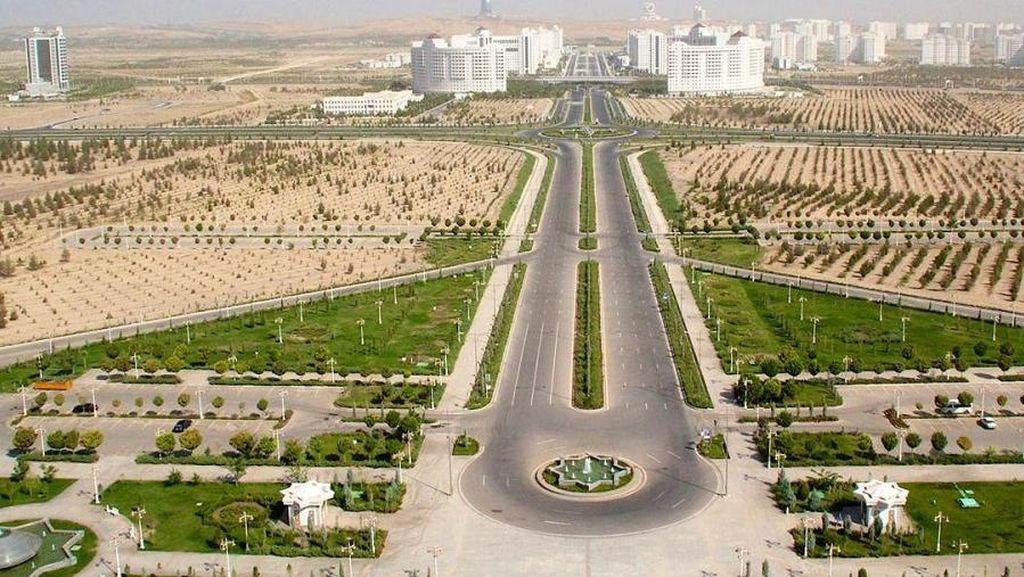 Foto: Negara Turkmenistan yang Ternyata Megah