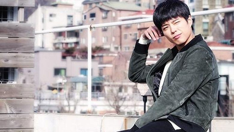 Friendship Goals! Dukung V, Park Bo Gum Nonton Konser BTS di Seoul