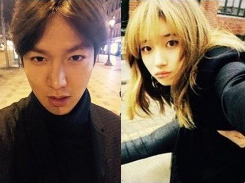 Foto: Lee Min Ho dan Suzy (Istimewa.)