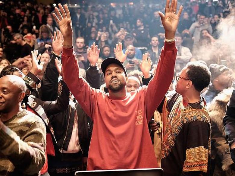 Kanye West dan perjalanan spiritualnya. Foto: Dok. Getty Images