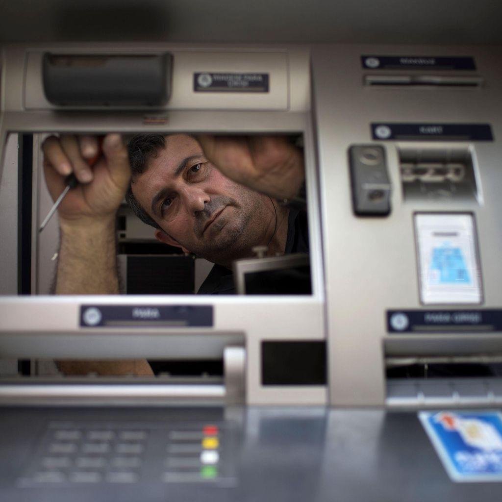 Pelaku Congkel Mesin ATM Pakai Pinset di Serang Ditangkap