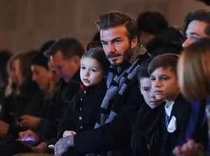 Penampilan Stylish Keluarga Beckham di New York Fashion Week