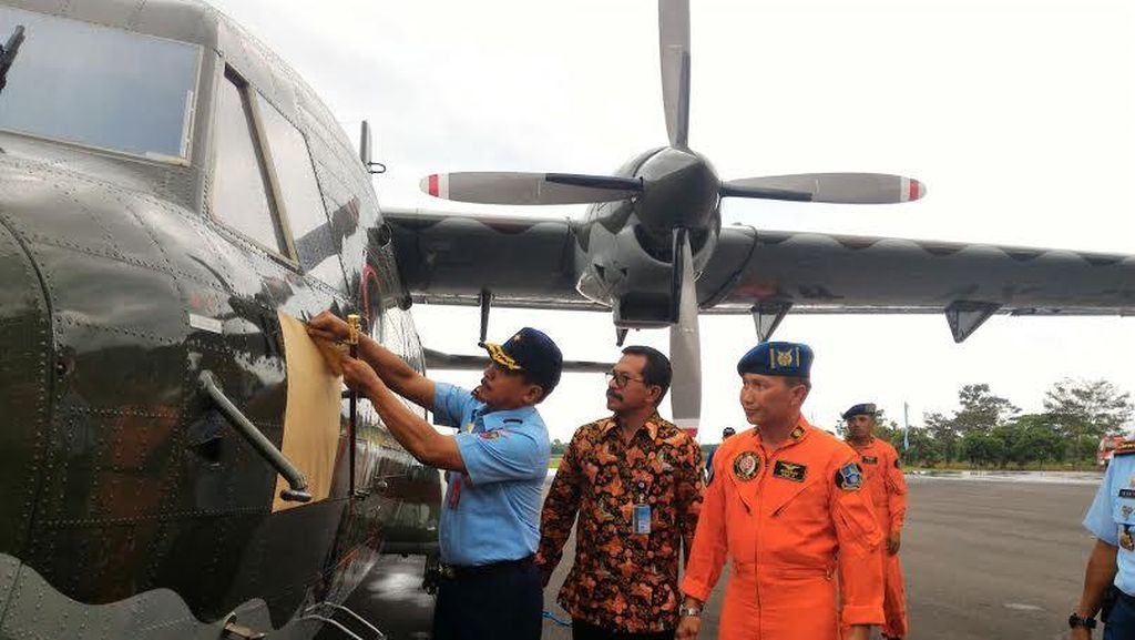 PTDI Kirim 1 Pesawat NC212 Made In Bandung ke TNI