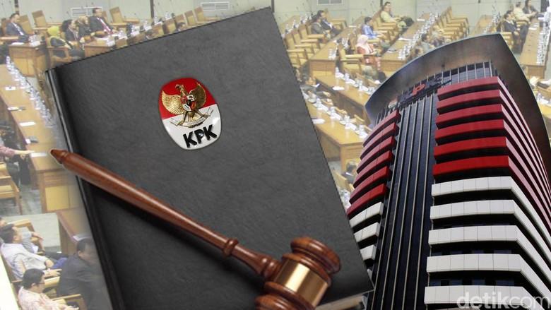 Besok, Pimpinan DPR dan Presiden Rapat Konsultasi Soal Revisi UU KPK