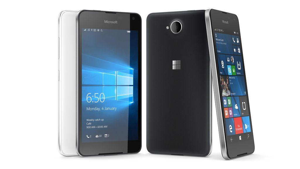 Lumia 650 mengusung frame alumunium. Alhasil, memberikan kesan mewah nan elegan.Foto: Microsoft