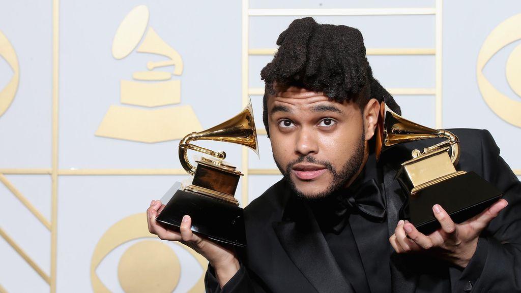Tidak Lagi Gimbal, Ini Rambut Baru The Weeknd