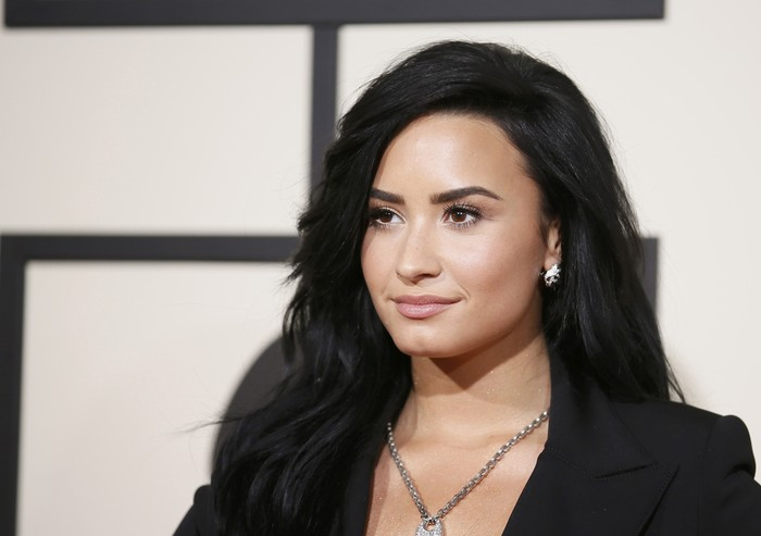 Singer Demi Lovato arrives at the 58th Grammy Awards in Los Angeles, California February 15, 2016.  REUTERS/Danny Moloshok