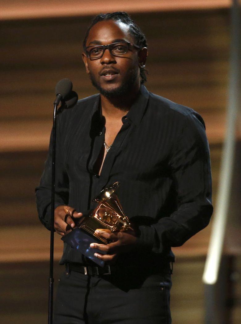 Kendrick Lamar menjadi yang terbanyak dengan memborong lima piala dari empat kategori Rap dan Best Music Video bersama Taylor Swift di lagu Bad Blood. REUTERS/Mario Anzuoni/detikFoto.