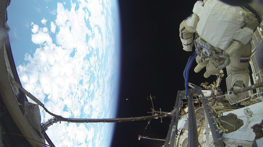 Duh! Stasiun Luar Angkasa Sempat Lepas Kendali Gegara Modul Rusia