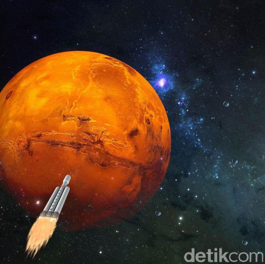 NASA Ingin Kirim Helikopter ke Planet Mars