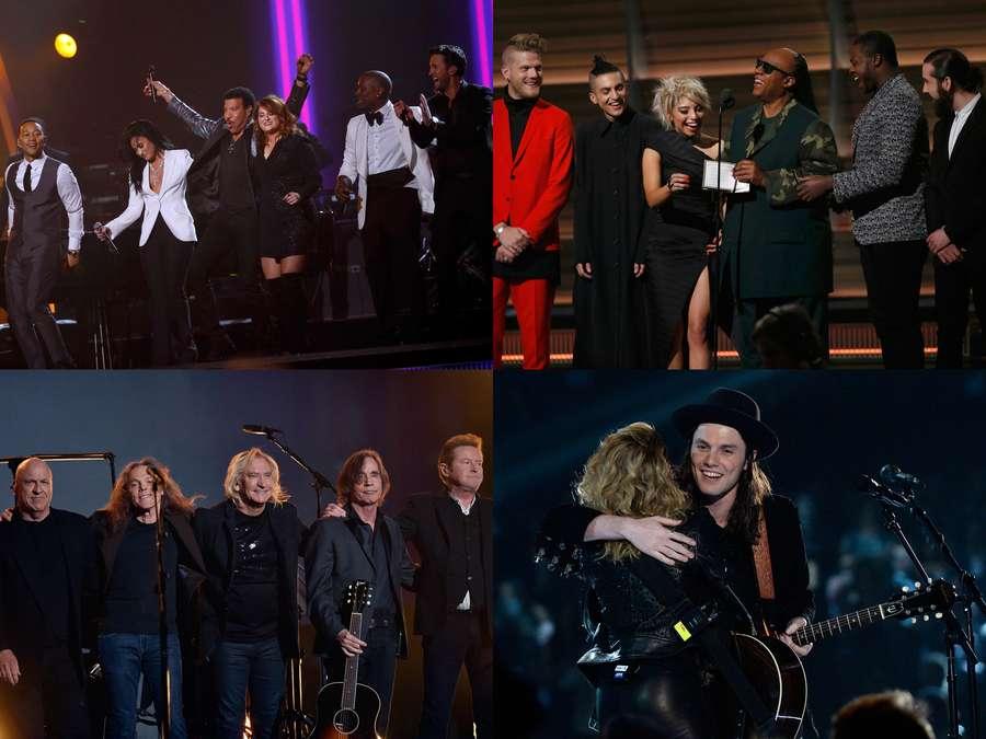 Hot Photo Highlight: Red Carpet hingga Backstage Grammy 2016