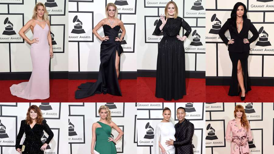 Hot Photo Highlight: Red Carpet hingga Backstage Grammy 2016