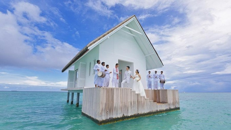 Foto: Island Wedding milik Four Seasons Resort Maldives (Four Seasons)