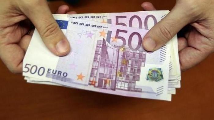 mata uang euro pecahan 500 euro