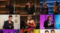 Deretan pemenang Grammy 2016. (Getty Images; REUTERS)