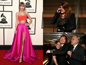 <i>Hot Photo Highlight</i>: <i>Red Carpet</i> hingga <i>Backstage</i> Grammy 2016
