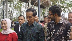 Jokowi Disambut CEO Google yang Berbatik