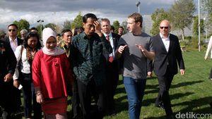 Jokowi Sodorkan Program USD 130 Miliar ke Mark Zuckerberg