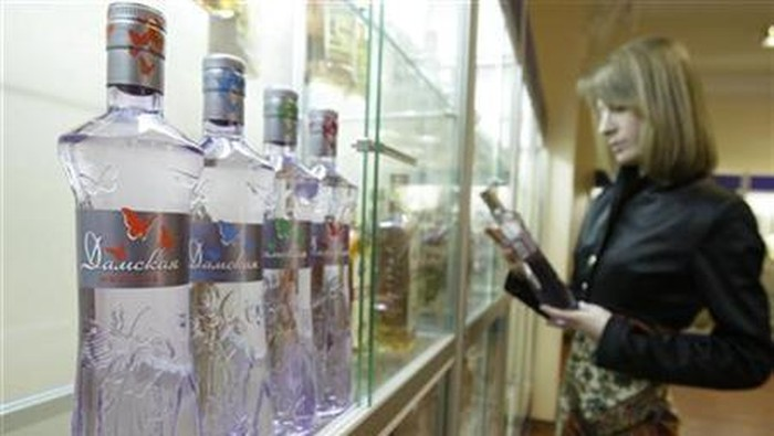 Ilustrasi Vodka (Reuters)