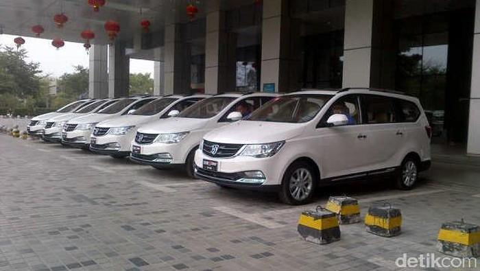 Pabrik mobil Wuling di China
