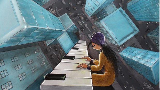 Mengenal Lebih Dekat Shamsia Hassani Si 'Banksy' Asal Afghanistan