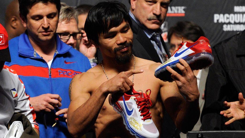 Lontarkan Pernyataan Soal Kaum Homoseksual, Pacquiao Didepak Nike