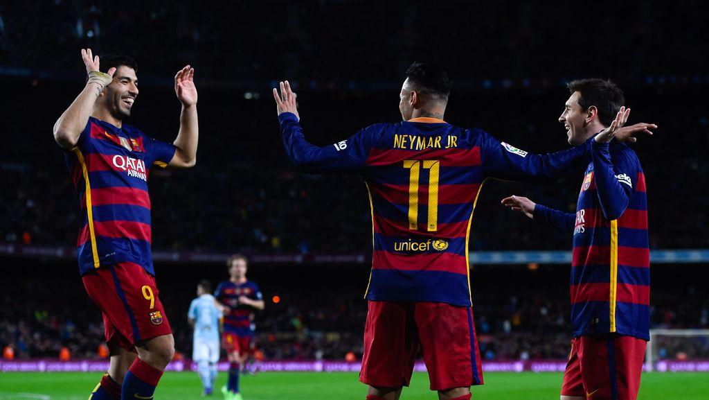 Messi-Suarez Pamer Kekompakan di Luar Lapangan