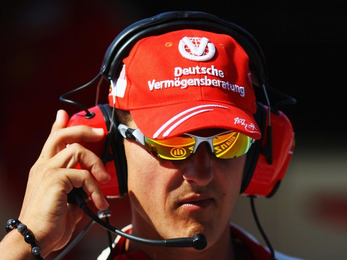 Michael Schumacher dikabarkan sudah membaik dan melepas life support (Ryan Pierse/Getty Images)